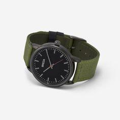 Men's Valor Watch In Green   Breda Watches