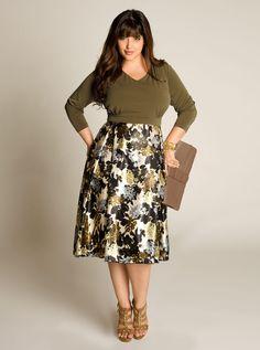 Carissa Plus Size Dress