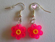 boucles d'oreilles petites fleurs
