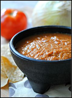 Baja Fresh Grilled Salsa