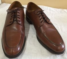 Florsheim Imperial Brown Leather Goodyear Welted Oxford Sz 11 D Superb | eBay