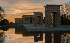 ITAP at temple of Debod in Madrid. http://ift.tt/2mBrGim