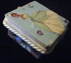 PRINCESS TIANA Teeny Tooth Fairy Box by PoZiDesigns on Etsy