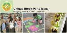 Unique Block Party Ideas | Neighborhood Parties | Snappening.com