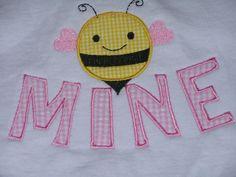 Bee Mine Valentine Shirt by StitchesAndBritches on Etsy, $18.00