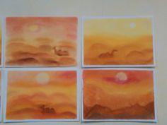 Deserto - soft pastel