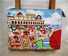 Cute Summer at the Beach Vintage Purse rubylane ruby lane #rubylane #vintage