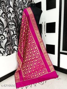 Dupattas Banarasi cotton silk dupatta Fabric: Banarasi Cotton Silk Pattern: Zari Work Multipack: 1 Sizes:Free Size (Length Size: 2.25 m)  Country of Origin: India Sizes Available: Free Size   Catalog Rating: ★4.2 (5673)  Catalog Name: Alluring Attractive Women Dupattas CatalogID_1070724 C74-SC1006 Code: 833-6716600-708