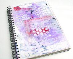 Mixed media Art  journal  smash book  stash by ArjatisDaughter