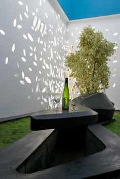 India House Design Eksterior Garden