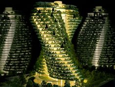 Construction on this unusual twisting tower, named Agora Garden, in Taipei City recently began, according to its designer Vincent Callebaut Architecte. Green Architecture, Futuristic Architecture, Sustainable Architecture, Amazing Architecture, Architecture Models, Amazing Buildings, Modern Buildings, Vincent Callebaut, Palacio Imperial
