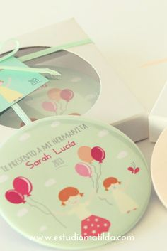 Cajas con imanes #souvenirscumples