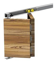 Système coulissant Slid'Up 140 pour portes pliantes 25kg - su5120 - Quincaillerie
