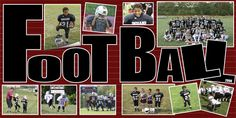 Football+Scrapbook+Layouts | The Season - Digital Scrapbook Place Gallery