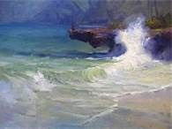 Richard Robinson Gallery - Impressionist Landscape Oil Paintings, DVD Lessons, Learn How to Paint. Impressionist Landscape, Landscape Paintings, Oil Paintings, Pastel Paintings, Boat Painting, Painting Art, Hawaiian Art, Acrylic Painting Lessons, Virtual Art