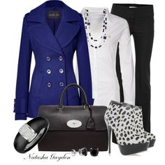 Pop of Color, created by natasha-gayden on Polyvore