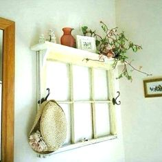old window decor frame cadre windows ideas wall for decorating rustic pane luxury best crafts o