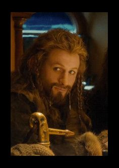 Random Fili gifs for Fili Friday (Oin, quit leaning into my shot)
