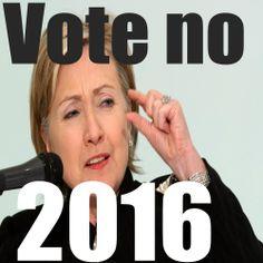 http://www.cafepress.com/904shirts/11311931 come get your vote no for Clinton