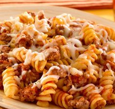 Skillet Pasta  Beef Dinner | Recipes | Spoonful