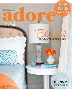 Adore Home magazine oct-nov/2012 #lifestyle #decor #interior #design #free