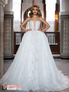 The narrow to full wedding gown reaches for the bride that is a little indecisive about a full ballgown. The past collections have given it a double reach by using the full princess gown part as a …