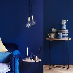 Purodeco Instagram Gallery | Feng Shui interiør & innredning #fengshui #homedecor #scandinavian #blue Water Element, Oslo, Color Trends, Feng Shui, Interior Inspiration, Homestead, Scandinavian, Indigo, Walls