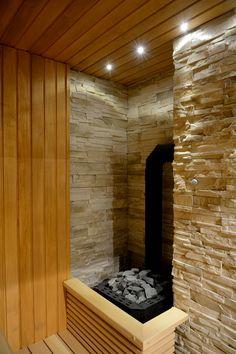 finnish sauna, a close look at heater