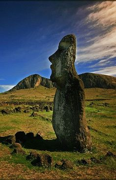 Rapa Nui, Easter Island » This place is on my top 5 lists of places to visit. Beautiful Places In The World, Oh The Places You'll Go, Great Places, Places Around The World, Places To Travel, Easter Island, Ancient Architecture, World Heritage Sites, Snow Sculptures