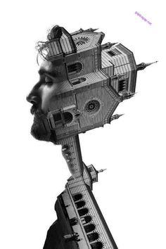 Beautiful Picture Of Double Exposure
