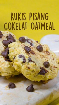 Baby Food Recipes, Sweet Recipes, Cookie Recipes, Dessert Recipes, Easy Snacks, Healthy Snacks, Tastemade Recipes, Yummy Cookies, Food Menu