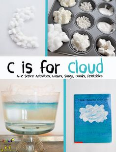 Letter of the Week Series: C is for Cloud-Book, Craft, Science Activity, & Sensory Play!