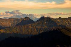 Mountainscape Background