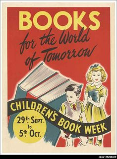 In November 1945 International Children's Book Week was celebrated with zest. The poster illustrated by Gertrude Howe showed children of different nationalities reading together under the title 'United through Books.'