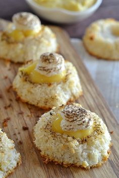 Lemon Meringue Coconut Macaroons