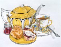 Подборка картинок на тему чайного натюрморта. Обсуждение на LiveInternet - Российский Сервис Онлайн-Дневников