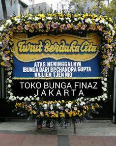 Toko Bunga Rawa belong adalah Toko Bunga Finaz menerima pesanan Bunga Papan Duka Cita dengan berbagai ukuran dari yang sedang hingga terbesar