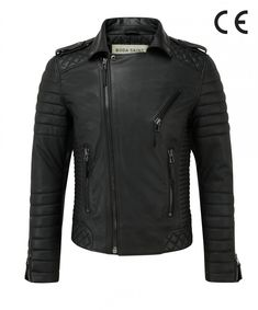 Awesome Jacket Leather Motorcycle New Men's Biker Genuine Black Lambskin Lambskin Leather Jacket, Leather Men, Biker Leather, Leather Bags, Designer Leather Jackets, Mens Boots Fashion, Shearling Coat, Men's Collection, Smart Casual