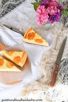 Cheesecake mit Aprikosen Creme Fraiche, Camembert Cheese, Dairy, Food, Chocolate Cakes, New Recipes, Biscuits, Bakken, Eten