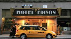 泊ってみたいホテル・HOTEL アメリカ>ニューヨーク>タイムズスクエアの理想的なロケーションに位置するマンハッタンのホテル>ホテル エジソン(Hotel Edison)