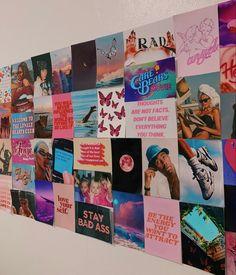 Cute Room Ideas, Cute Room Decor, Teen Room Decor, Bedroom Wall Collage, Photo Wall Collage, Picture Wall, Wall Art, Room Ideas Bedroom, Bedroom Decor