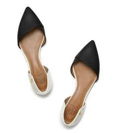 Obsessed with these! // Tory Burch Viv Flat $265