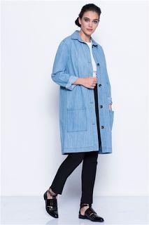 Modainturkey: Sezonun en yeni trendi kot ceketler.