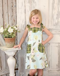 Annie  Vintage Style Girl's Dress Pattern PDF by RubyJeansCloset, $7.50