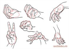 руки аниме рисунок - Поиск в Google