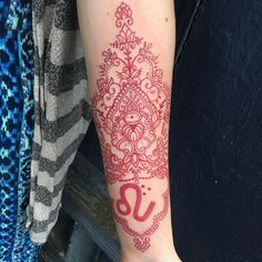 Red Ink Tattoo Ideas | POPSUGAR Beauty UK Tattoo Motive, Arm Tattoo, Sleeve Tattoos, Tattoo Uk, Sanskrit Tattoo, Ankle Tattoo, Red Ink Tattoos, Body Art Tattoos, Tatoos