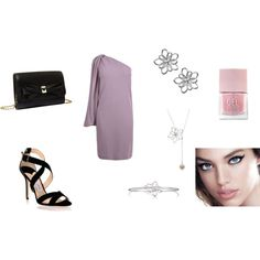 """simple evening"" by balsamoirene on Polyvore"