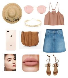 """Untitled #2"" by cande-monier on Polyvore featuring Ray-Ban, TIBI, H&M, Hollister Co., Eugenia Kim, Lana Jewelry and Express"