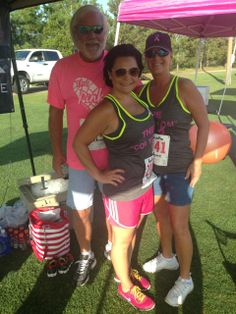 Newcor's Survivor- Krissie Vanyo @ The Pink 5K in The Woodlands, TX!