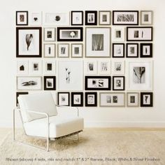 photo wall frame kit all in one systemto create a perfect